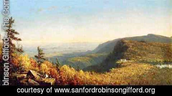 Sanford Robinson Gifford - The Catskill Mountain House