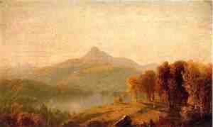 Sanford Robinson Gifford - A Sketch of Mount Chocorua