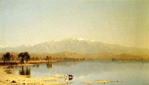 Sanford Robinson Gifford - Early October in the White Mountains