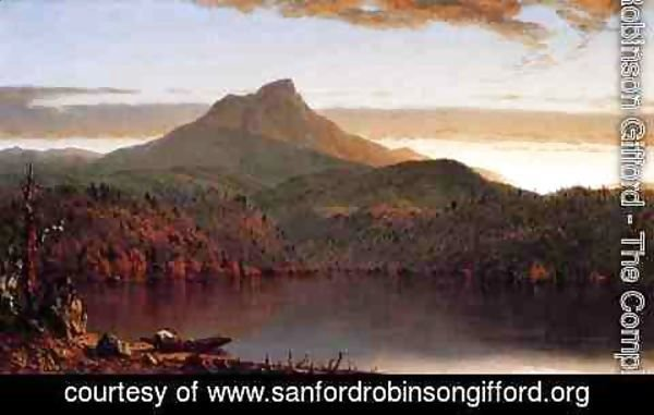 Sanford Robinson Gifford - A Lake Twilight