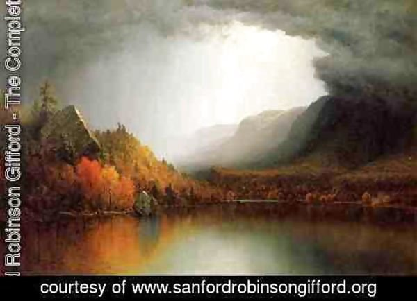 Sanford Robinson Gifford - A Coming Storm
