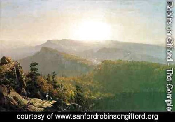 Sanford Robinson Gifford - The Shawangunk Mountains