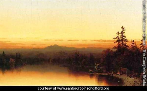 A Twilight in the Adirondacks I