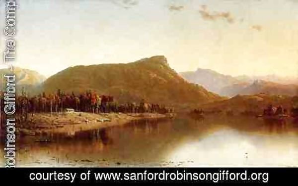 Sanford Robinson Gifford - A Home in the Wilderness