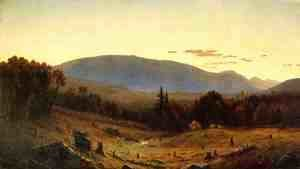 Sanford Robinson Gifford - Hunter Mountain, Twilight