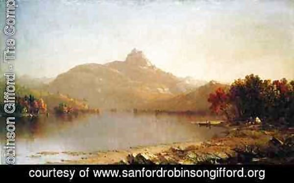 Sanford Robinson Gifford - An October Afternoon