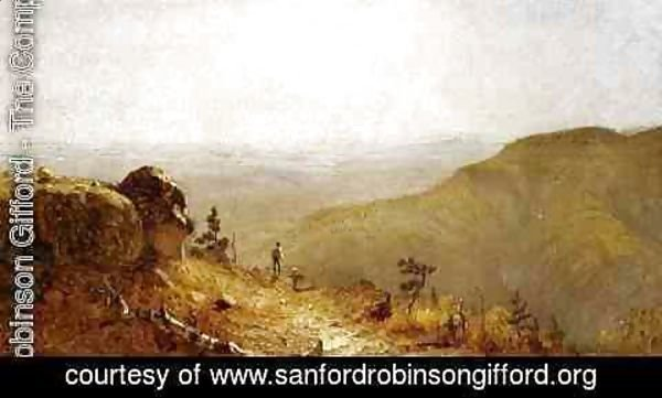 "Sanford Robinson Gifford - Study for ""The View from South Mountain, in the Catskills"""