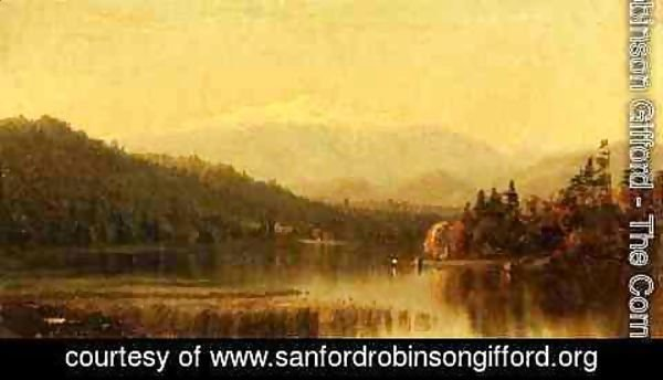 Sanford Robinson Gifford - Sunset in the White Mountains