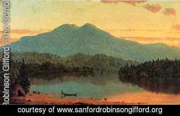 Sanford Robinson Gifford - Indian Twilight