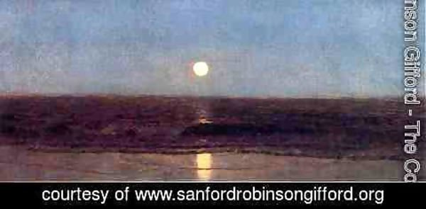 Sanford Robinson Gifford - Coastal Sunset