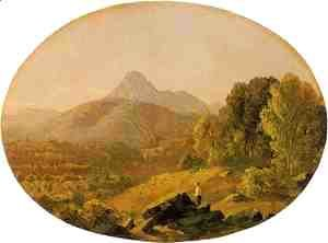 Sanford Robinson Gifford - Mount Chocurua, New Hampshire