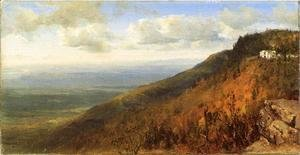 Sanford Robinson Gifford - A Sketch from North Mountain, In the Catskills