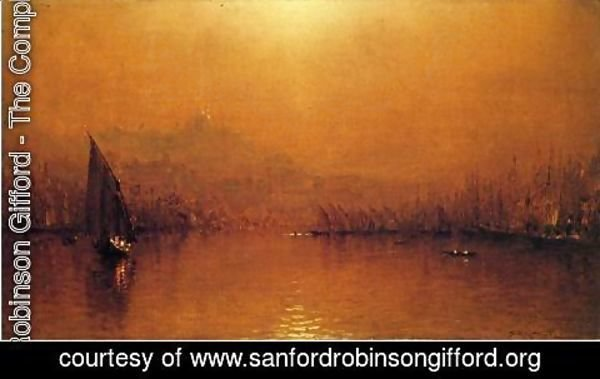 Sanford Robinson Gifford - The Golden Horn