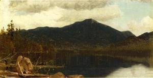 Sanford Robinson Gifford - Mount Whiteface from Lake Placid