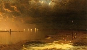Sanford Robinson Gifford - The Mouth of the Shrewsbury River