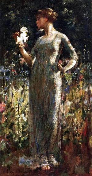 Sanford Robinson Gifford - A King's Daughter 1889
