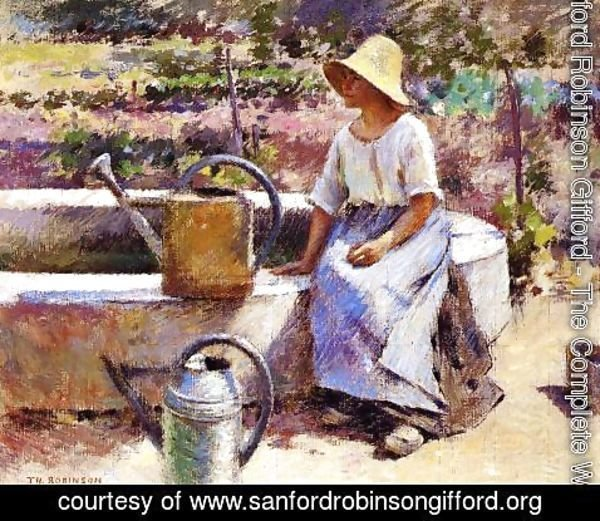 Sanford Robinson Gifford - The Watering Pots 1890