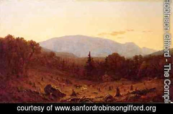 Sanford Robinson Gifford - Twilight on Hunter Mountain 1867