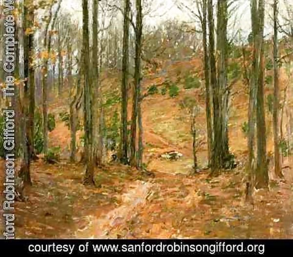 Sanford Robinson Gifford - Virginia Woods 1893