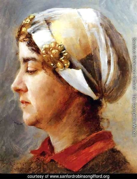 Woman with White Cap 1884
