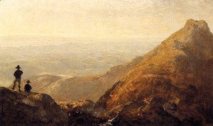 Sanford Robinson Gifford - A Sketch Of Mansfield Mountain