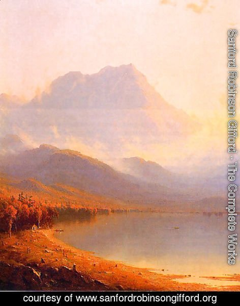 Sanford Robinson Gifford - Morning In The Adirondacks