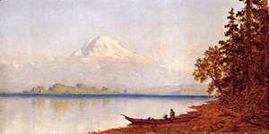 Mount Ranier  Washington Territory