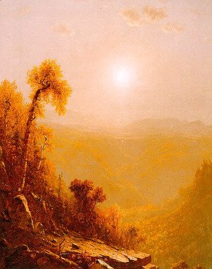 Sanford Robinson Gifford - October In The Catskills