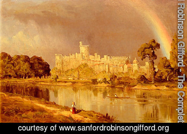 Sanford Robinson Gifford - Study Of Windsor Castle