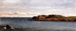 Sanford Robinson Gifford - Study On The Massachusetts Coast