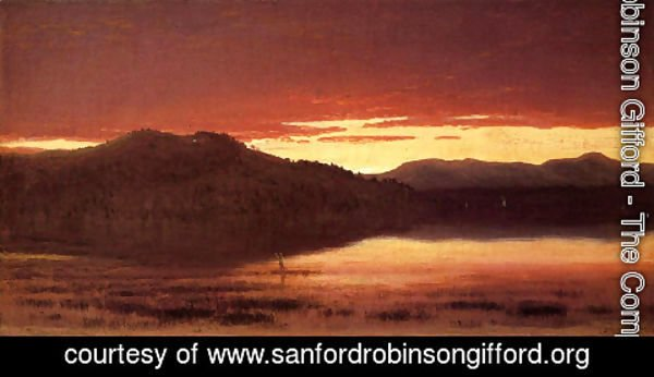 Sanford Robinson Gifford - Twilight